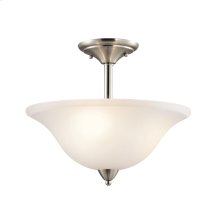 Nicholson Collection Nicholson 3 Light Semi Flush Ceiling Light NI