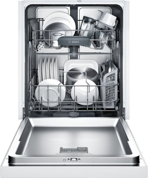 "24"" Recessed Handle Dishwasher 300 Series- White SHE53TL2UC"
