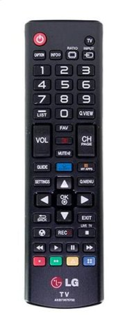 Full Function Standard TV Remote Control Product Image