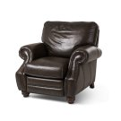 Stanton Leather Reclining Chair in Vintage Espresso Product Image