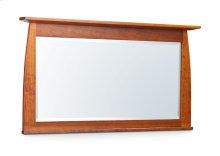 "Aspen Bureau Mirror with Inlay, 55""w, Cherry #26 Michael's, Aspen Bureau Mirror with Inlay, 55"", Cherry"