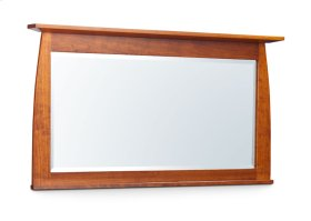 "Aspen Bureau Mirror with Inlay, 55""w, Cherry #26 Michael's, Aspen Bureau Mirror with Inlay, Medium, Cherry"