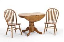 Classic Oak Chestnut Drop Leaf Table Product Image