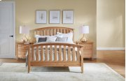 Queen Slat Bed Product Image