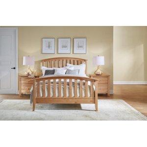 A AmericaQueen Slat Bed