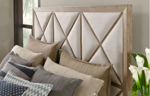 Bridgewater Upholstered Bed w/Storage Footboard, King 6/6