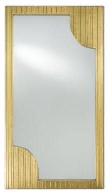Morneau Brass Rectangular Mirror