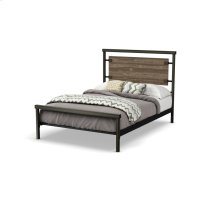 Factory Regular Footboard Bed (larch) - Full Product Image