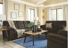 5-pc Living Room Group: Sofa, Loveseat, Coffee Table, 2 End Tables