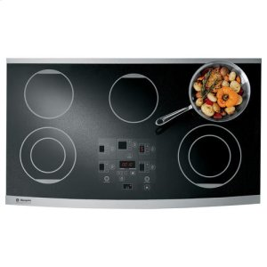 "MonogramMONOGRAMGE Monogram(R) 36"" Digital Electric Cooktop"