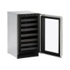 """U-Line Modular 3000 Series 18"""" Wine Captain(r) Model With Stainless Frame Finish And Field Reversible Door Swing (115 Volts / 60 Hz)"""