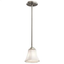 Serina Collection Serina 1 Light Mini Pendant in NI