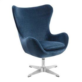 Swivel Chair-green#belvedere Bk-21-laguna W/chrome Pedestal Base