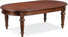Fredericksburg Oval Cocktail Table