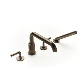Roman Tub Faucet with Hand Shower Taos (series 17) Bronze