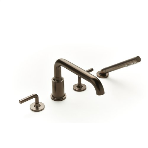 Roman Tub Faucet With Hand Shower Taos Series 17 Bronze