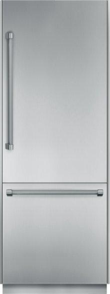 30 inch Pre-Assembled Built-In Bottom-Freezer T30BB820SS