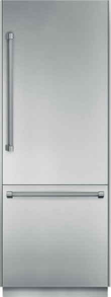 30 inch Pre-Assembled Built-In Bottom-Freezer T30BB820SS