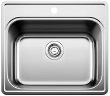 Blanco Essential Laundry Sink Single Bowl - 1 Hole - Satin Finish