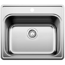 Blanco Essential Laundry Sink Single Bowl - 1 Hole - Satin Finish