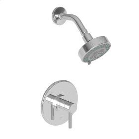 Weathered Brass Balanced Pressure Shower Trim Set