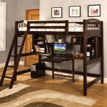 Dakota Ridge Twin Bed/workstation