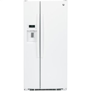 ®23.2 Cu. Ft. Side-By-Side Refrigerator - WHITE