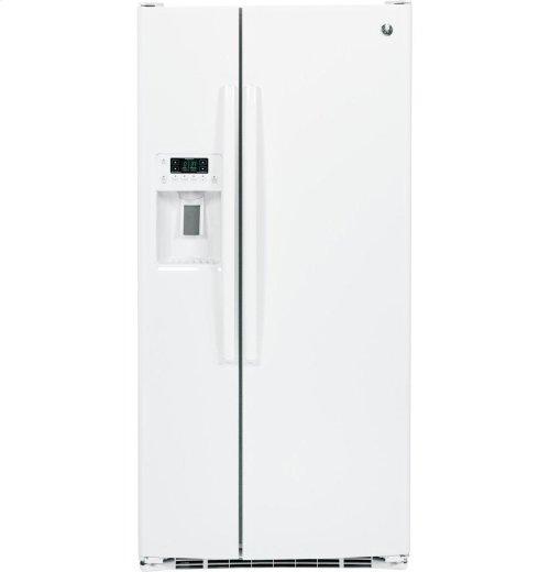 GE® 23.2 Cu. Ft. Side-By-Side Refrigerator