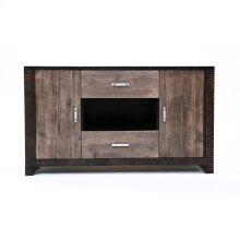 Urban Graphite 2 Door 2 Drawer TV Stand