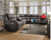 Power Headrest Reclining Sectional Product Image