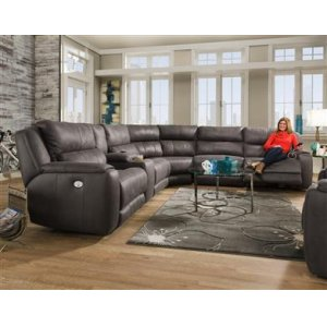Southern MotionLAF Single Seat Recliner with Power Headrest