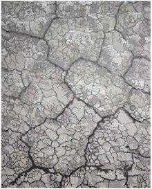 Divine Div01 Charcoal Rectangle Rug 7'9'' X 9'9''