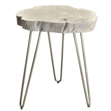 Nila Accent Table in Grey