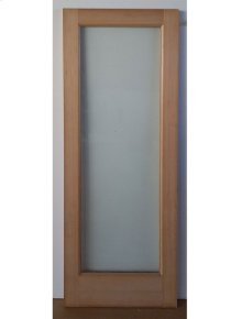Cedar Glass Door 07 - Old Stock