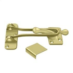 "5"" Door Guard - Polished Brass"