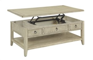 22511  Lift Top Cocktail Table