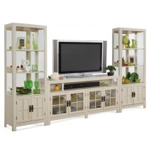 70258 SAYBROOK II BUNCHING TV CABINET, & 70353 PIER CABINET