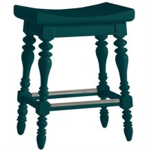 Retreat - 5 O'clock Somewhere Counter Stool In Belize Teal