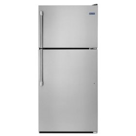 Maytag® 30-inch Wide Top Freezer Refrigerator with EvenAir Cooling Tower - 18 cu. ft. - Stainless Steel