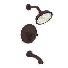 Oil Rubbed Bronze Balanced Pressure Tub & Shower Trim Set