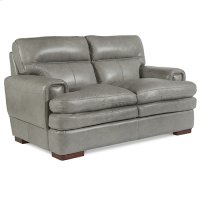 Jake Loveseat w/ Nickel Nail Head Trim Product Image