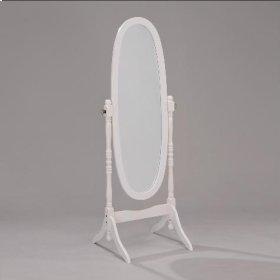 Cheval Mirror White