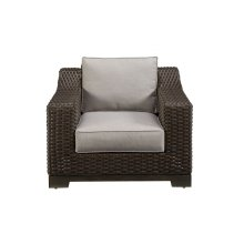 Brannon Outdoor Stationary Club Chair