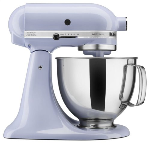 Artisan® Series 5 Quart Tilt-Head Stand Mixer - Lavender Cream