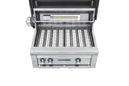 """30"""" Sedona by Lynx Built In Grill with 2 Stainless Steel Burners and Rotisserie, NG"""