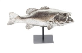 Largemouth Bass Fish with Stand
