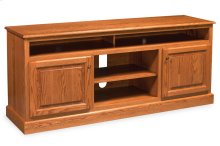 Classic TV Stand with Soundbar Shelf, Classic TV Stand with Soundbar Shelf, Medium