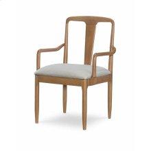 Splat Back Arm Chair