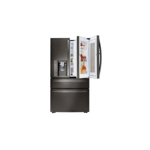 30 cu. ft. Smart wi-fi Enabled InstaView Door-in-Door® Refrigerator - BLACK STAINLESS STEEL