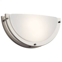 """6"""" LED Wall Sconce Brushed Nickel"""